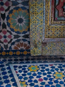 moorish designs at Telouet kasbah
