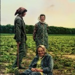 Czech farmer women in field