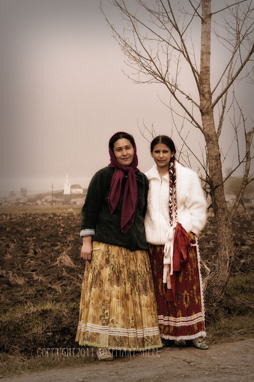 peasants from romania