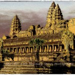 Angkor Wat as approached from the jungle