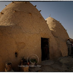 beehive house on farm in Syria